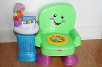 Chaise musicale Fisher Price (français)