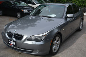 2008 BMW 5 Series 535xi Sedan - No Accidents - Mint Condition!