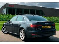 2016 Audi A4 Saloon S line 2.0 TDI 150 PS S tronic Auto Saloon Diesel Automatic