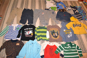 Boys 2T clothing lot, brand name long-sleeves, pants, etc.
