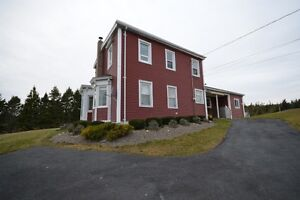 Historic solid well-built house & Ocean front Land