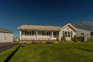Beautifully maintained 4 bedroom 1 & ½  bath bungalow