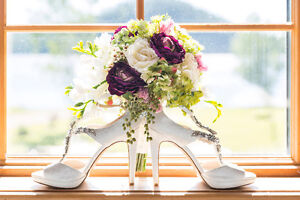 Silk flower arrangements for wedding and bouquets