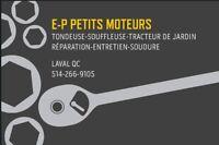 LAWNMOWER & SMALL ENGINE REPAIR-MAINTENANCE -STEEL WELDING