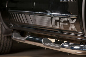 2015-up Deisel  GFX Chrome Steps Chev/GMC Crew Cab
