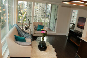 Luxury 2bd 2 bath apartment in Yaletown Vancouver
