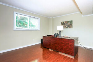 bedroom house middle level basement for rent in scarborough city
