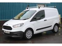 2014 FORD TRANSIT COURIER BASE 1.5 TDCI 75 BHP DIESEL MANUAL VAN, 1 OWNER **NO V