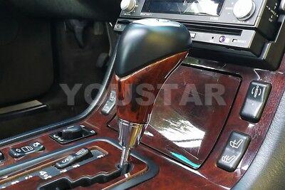 US STOCK BURL WOOD Shift Gear Knob for Mercedes W463 W210 W220 W163 R170 SLK CLK