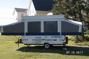 Jayco hard top travel trailer