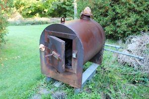 Heavt duty Wood stove.