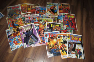 23 Thor comic books from Marvel