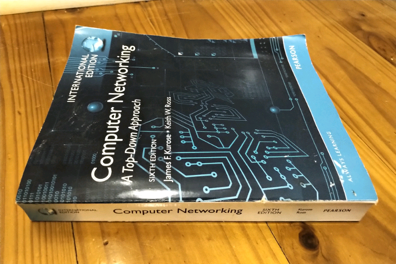 Buy computer networking: a top-down approach by james f. Kurose.