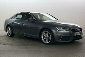 image for 2016 Audi A4 2.0 TDi 190 S-Line S-Tronic Auto Saloon Diesel Automatic