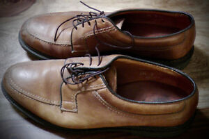 Hearty Allen Edmonds all leather oxfords