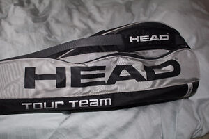 Head tour team tennis racket travel bag excellent