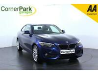 2016 BMW 2 SERIES 218I SE COUPE PETROL