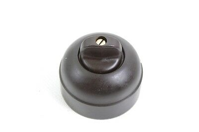 Old Bakelite Switch Light Switch Rotary Switch Exposed Ap Type Decoration Loft