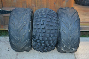 """1973 to 1985 Honda ATC 70 tires x3 size is 16x8x7 for 7"""" rim"""