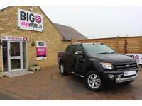 2014 FORD RANGER TDCI 197 WILDTRAK 4X4 DOUBLE CAB WITH ROLL'N'LOCK TOP PICK UP D