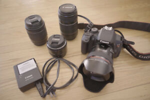 Selling Canon T5i, Lenses & Batteries (LIKE BRAND NEW CONDITION)