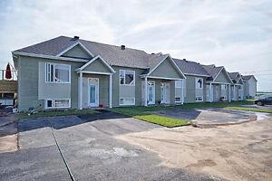 Maison de ville NEUVE 129 900$ 3 chambres Saint-Agapit Levis