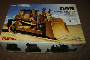 MENG 1/35 SCALE D9R ARMOURED BULLDOZER NEW