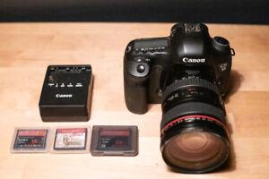 Kit complet Canon EOS 5D Mark III et lentille EF 24-105mm f/4