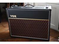 VOX AC15C2 Twin speaker Guitar combo only 1 year old.