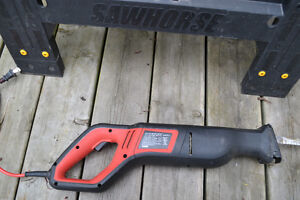6.5 amp JOBMATE Reciprocating Saw in GREAT SHAPE! $25 FIRM