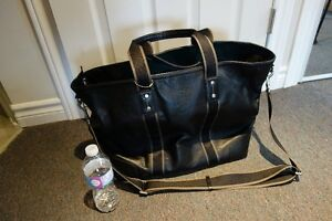 Coach Brand Leather Tote Bag