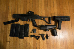 Magfed Tippmann X7 Phenom with electronic trigger