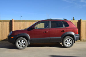 2005 Hyundai Tucson with very low mileage  94,471 kms