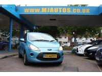 2009 09 FORD KA 1.2 STYLE 3DR, 33,000 MILES, FFSH, BLUE