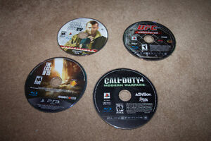 +++ 4 PLAYSTATION 3 GAMES FOR $10!+++