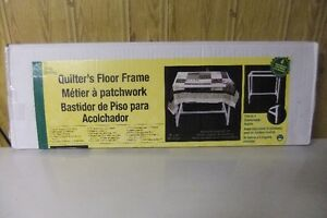 Quilters Foor Frame Table