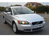 Volvo S40 S 1.6 2007, 47K MILES, FULL S/HISTORY, JULY MOT, 2 OWNER