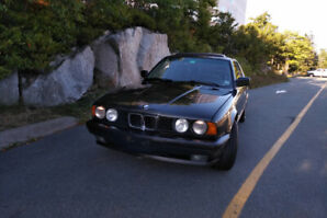 Classic 1990 BMW 535 Never Winter Driven