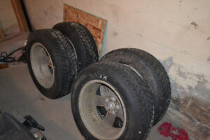 16 inch Hankook Snow Tires for sale