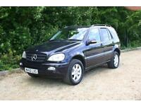 AUTOMATIC DIESEL 7 SEAT MERCEDES ML 270 with NEW MOT done 154151 Miles