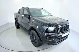 2021 BLACK FORD RANGER 2.0 ECOBLUE 213 WILDTRAK PICK UP 4WD - 1 OWNER - ONLY 2K