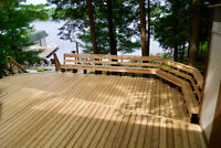 Custom Deck Build, Replacement and More - Elements of Muskoka