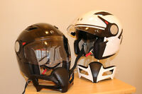2 Brand New Bombardier Light Weight Hi Tech Helmets Men/ Ladies