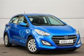2015 Hyundai i30 1.6 CRDi S Blue Drive (110 PS) Diesel blue Manual