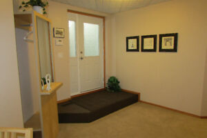 Clean and cozy one bedroom basement suite - available Sept 1