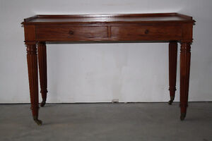 Vintage Mahogany Hall Table/Desk