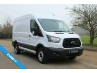 2017 67 FORD TRANSIT 2.0 330 L2 H2 130PS EURO 6 AIR CONDITIONING DIESEL