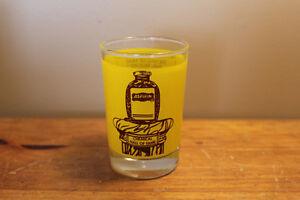 Vintage Aspirin Advertising Glass