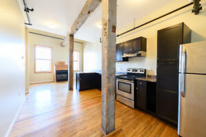 Gorgeous Downtown Loft: Gas Fireplace & Private Patio