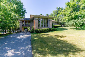 Exquisite custom Frank Lloyd Wright inspired home..Must See!